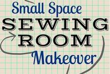 Sewing Room Organization / Looking to get more organized? Check out our board on sewing room organization!