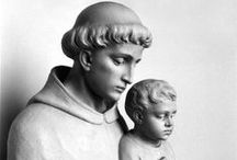 St. Anthony of Padua / Beautiful and inspiring images of this beloved saint!