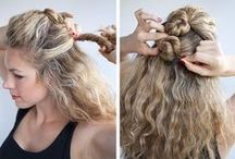 Hair Tips, Tricks and Styles / A board filled with fair inspiration from great cuts, to perfect curls, to updos, braids and everything in between.