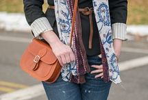 Blogger Style I Love / Some of my favorite looks and outfits from the bloggers and fashionistas, to serve as inspiration.