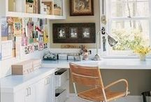 Home office and craft room / Escritorios / by Daniela: a bit of everything