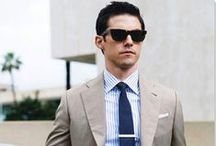 Dapper Men / A little male inspiration for those men looking to dress well, or for their girlfriends looking to help them.