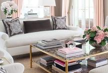 Living Room Spaces / by Lyndsey Miller Burton