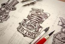 draws and illustrations