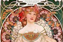 Art Nouveau / by Belle Etoile