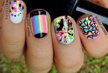 I Heart Nails / Nail polish on nails in super awesome ways.