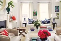For the Home...colorful, comfortable living / by Stephanie Cox