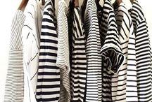 style / Stripes // pink // black & white // grey