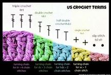 Crochet-Tips and Tricks / by JenevaGriffin AStitchAboveTheRest