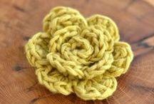 Crochet-Flowers / by JenevaGriffin AStitchAboveTheRest