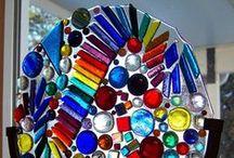 ARTE DE CRISTAL / ART GLASS / Lo divino y lo mundano expresado en la fragilidad de la luz atravesando el cristal / by Mabel Cendejas