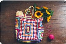 Crochet-Bags / by JenevaGriffin AStitchAboveTheRest