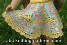 Crochet-doll clothes  / by JenevaGriffin AStitchAboveTheRest