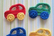 Crochet-Appliques / by JenevaGriffin AStitchAboveTheRest