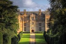 Manor Houses, Castles, Abbeys / houses with names / by Tammy Hughes