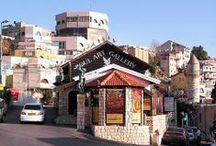 Tzfat (Safed), Israel / Tzfat (צפת, Safed) is a city in the Northern District of Israel. Located at an elevation of 900 metres (2,953 ft), Tzfat is the highest city in the Galilee and in Israel. Since the 16th century, Tzfat has been considered one of Judaism's Four Holy Cities, along with Jerusalem, Hebron and Tiberias; since that time, the city has remained a center of Kabbalah, also known as Jewish mysticism. ~Wikipedia