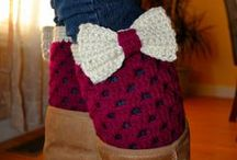 Crochet-Socks, Slippers and Boot Cuffs / by JenevaGriffin AStitchAboveTheRest