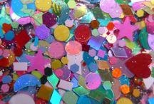 My Lynnderella Menagerie / Who is kept in my glass & glitter zoo?
