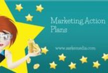 Monthly Marketing Action Plans AKA M.A.Ps / Each month I share a Marketing Action Plan, and I'm keeping them here so that I can find them! / by Sarah Arrow