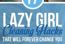 Lazy Girl Cleaning hacks / Cleaning How to's and tips! / by Hendel