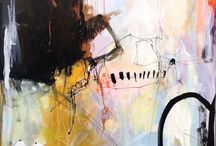 Brush Strokes & Scribbles / all things dealing with the arts - painting, drawing, dancing, street art and so on / by Darby Casey