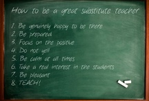 Resources for Substitute (Supply) Teaching / Online resources for Substitute Teaching (or as called here, Supply Teaching) / by Anne MacLellan