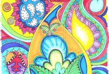 Prints And Colours / by stephanie Silvia
