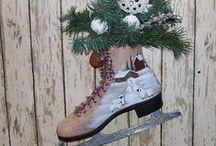 Christmas/Winter/Home decor  / by Whitney McDiffitt-Gump