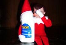 Elf on the Shelf-Christmas! / by Whitney McDiffitt-Gump