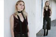 Holiday Agenda / The Art of Holiday Fashion: Striking, stunning, and simply beautiful looks for the holidays.  / by J BRAND