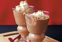 Chocolate MOUSSES / Smooth, light and creamy mousse for all occasions.
