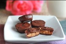 Chocolate & PEANUT BUTTER / A celebration of the BEST combination there is - chocolate and peanut butter!