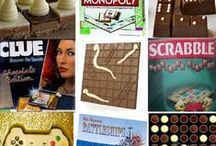 Chocolate GAMES / Chocolate board games, puzzles and more!