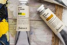 Oil Paint / Jackson's offer the best oil paints available in the world today as used by the most successful professional artists – brands such as Michael Harding, Vasari, Old Holland and Schmincke Mussini.  We also offer less expensive artist and student quality oil colour ranges, however, although the prices may be low, the quality is still high, with no fillers used in any of the ranges that we offer.