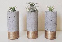 Concrete/plaster handmade / by stephanie Silvia
