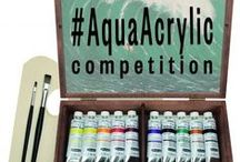 The Water Source / A source of inspiration for our acrylic competition #AquaAcrylic. Upload a picture of your water-themed, acrylic painting via Twitter with the #AquaAcrylic, for the chance to win a Schmincke PRIMAcryl Finest Artist's Acrylic set complete with 11 different shades, 2 brushes, 1 palette and a beautiful, wooden box. For more information visit http://www.jacksonsart.com/blog/2015/06/18/paint-water-for-our-aquaacrylic-competition/ Entries close on 9th June 2015