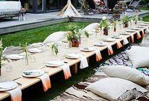a special diner / a special day De styling voor een speciale dag! Lekker eten en veel gezelligheid, dat is waar het om gaat bij het diner. Een mooi opgemaakte tafel met sfeervolle decoratie maakt het extra gezellig!