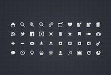 UI icons / by Silvia Boscolo
