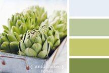 Color palettes / by Silvia Boscolo