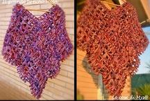 I miei lavori al Telaio di Maria Gio e Knifty Knitter / Tutti i miei lavori e tutorial