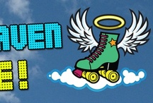 Roller Discos and Roller Rinks UK / Some great places to get out there on your quad skates (preferably Rio Rollers) and have fun!