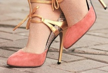 Surefooted / Footwear: heels, pumps, sandals, flats, slingbacks, wedges, booties. / by Shuchi
