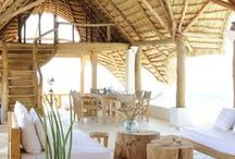 beachside. / Inspiration for a casual, but chic beachside retreat!