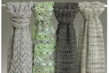 knitted shawl and cowls / by Berit Frederiksen