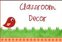 Classroom Decor / Are you looking for ways to spruce up classroom? How about a way to get ready for a new school year?  Check this board out if you need some fresh ideas for your classroom!