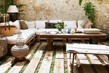 O U T S I D E / Outdoor living / by Abby Pendergrast