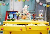 Vintage Carnival Kids Party / Fun and engaging ideas for a classic carnival themed birthday party for kids. Decorations, games, entertainment, food and more!