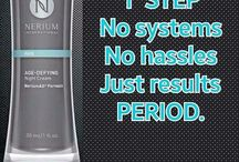 Skin Care & Anti-Aging / Nerium International is a biomedical anti-aging company for the Mind, Face, & Body.  leslieheitz.nerium.com • PATENTED FORMULATIONS • SCIENTIFICALLY PROVEN • VISIBLE RESULTS • AFFORDABLE •   Ask me about how to get your product for FREE! http://tinyurl.com/hcn6hmk  Can you #afford to #retire? Want supplemental #income? #SAHM #WFH #BrainWarrior / by Leslie Heitz