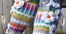 Gloves, Socks, Shoes, Hats Handmade / Gloves, Socks, Hats and similar handmade accessories