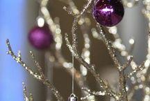 Purple Holiday / Pretty Purple Christmas & Winter Stuff
